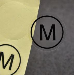 Самоклеящиеся этикетки для маркировки упаковки с одеждой