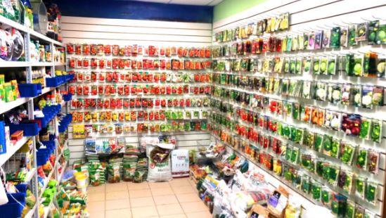 Организация помещения и брендирование торговой точки по продаже семян