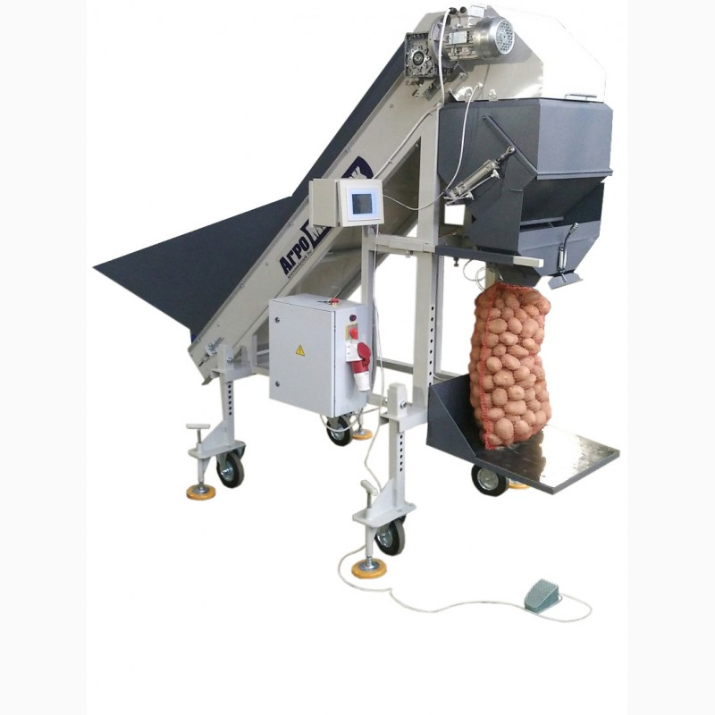 Автоматический фасовщик картофеля