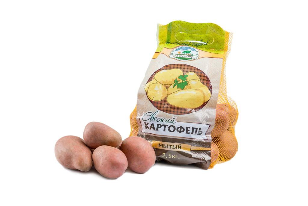 Элитная упаковка картофеля