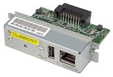 Ethernet порт UB-E04 для TM серии/10 Base-T/100Base-TX Ethernet/USB2.0